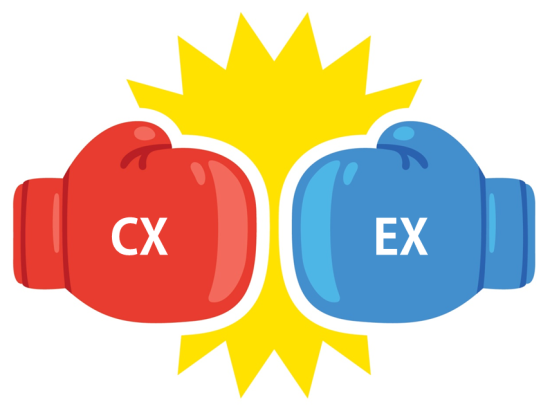Customer Experience vs. Employee Experience
