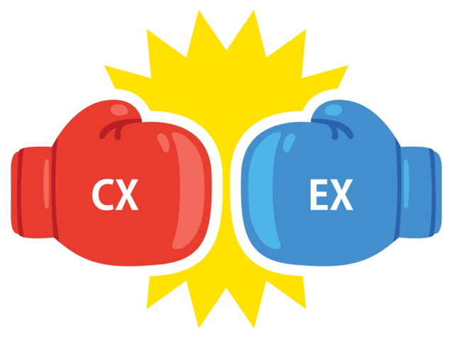 Customer Experience vs. Employee Experience