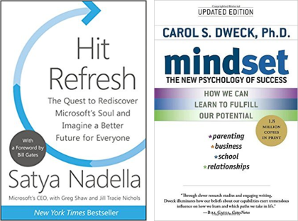Hit Refresh & Mindset