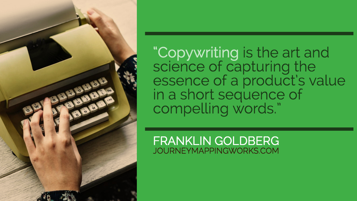 A Better Definition of Copywriting