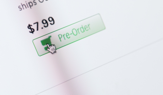 Pre-Order Button